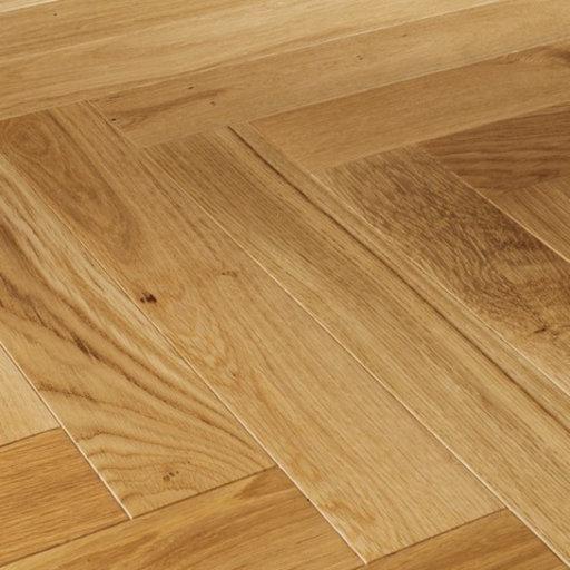Kersaint Cobb Providence Herringbone Medium Oak Engineered Flooring, Rustic, Matt Lacquered, 95x10.5x570 mm Image 1
