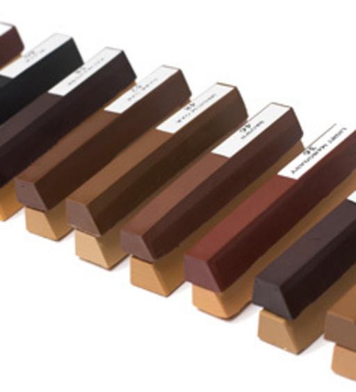 Morrells Soft Wax Wood Floor Filler, Dark Assorted, 20 Sticks Image 1