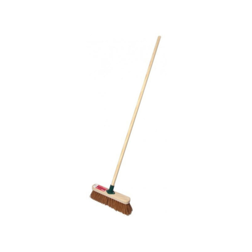 Soft Sweeping Broom Complete, 12 inch Image 1