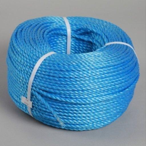 Polypropylene Rope, 12 mm, Blue, 30 m Image 1