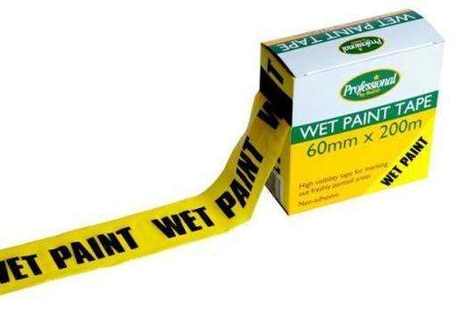 Wet Paint Tape, 60 mm, 200 m Image 1