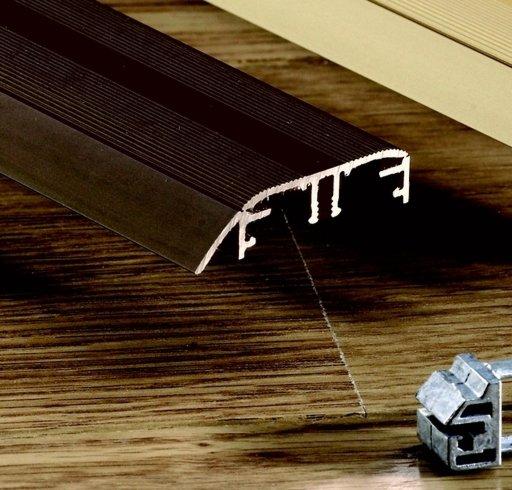 QuickStep Incizo Bronze Metal Threshold, 47x2700 mm Image 2