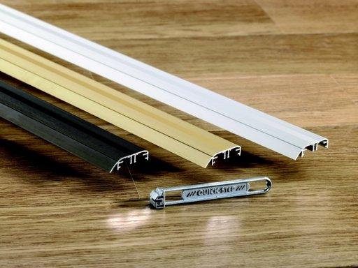 QuickStep Incizo Gold Metal Threshold, 47x2700 mm Image 1