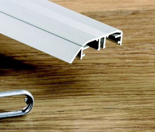 QuickStep Incizo Silver Metal Threshold, 47x2700 mm Image 1