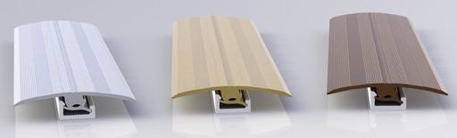 QuickStep Multifunctional Threshold, Silver, 1.86 m Image 1