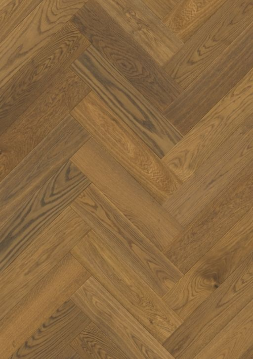 QuickStep Disegno Cinnamon Raw Oak Engineered Parquet Flooring, Extra Matt Lacquered, 145x14x580 mm Image 1