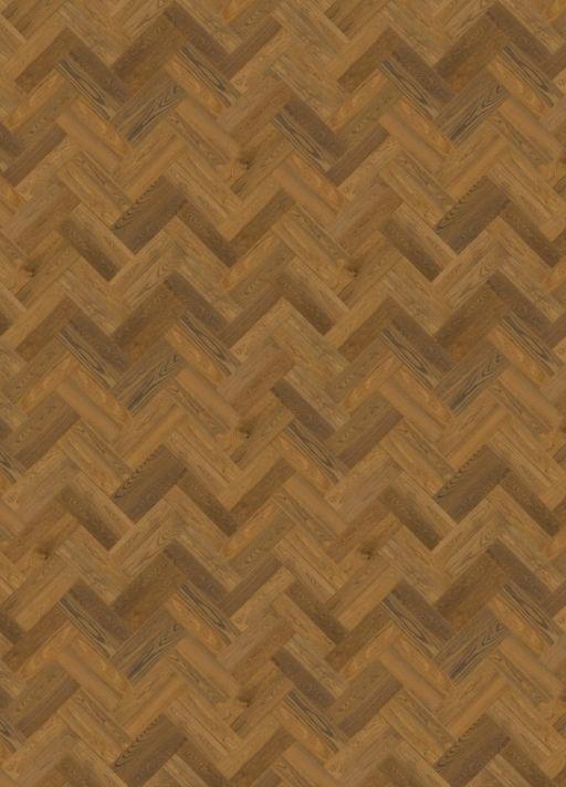 QuickStep Disegno Cinnamon Raw Oak Engineered Parquet Flooring, Extra Matt Lacquered, 145x14x580 mm Image 3