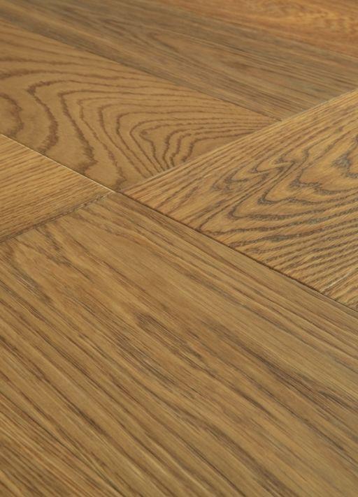 QuickStep Disegno Cinnamon Raw Oak Engineered Parquet Flooring, Extra Matt Lacquered, 145x14x580 mm Image 4