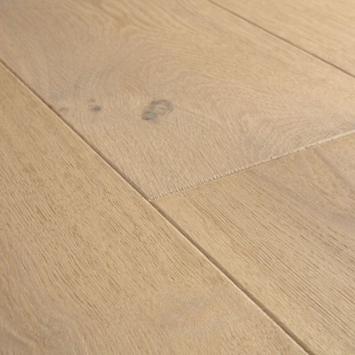 QuickStep Palazzo Almond White Oak Engineered Flooring, Brushed, Oiled, 190x14x1820 mm Image 3