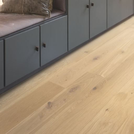QuickStep Palazzo Almond White Oak Engineered Flooring, Brushed, Oiled, 190x14x1820 mm Image 4