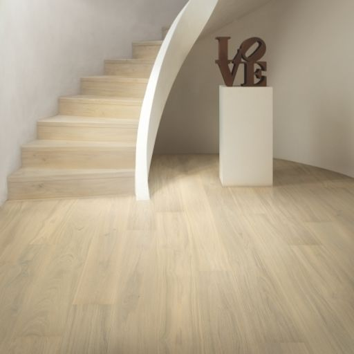 QuickStep Palazzo Lily White Oak Engineered Flooring, Brushed, Extra Matt Lacquered, 190x14x1820 mm Image 2