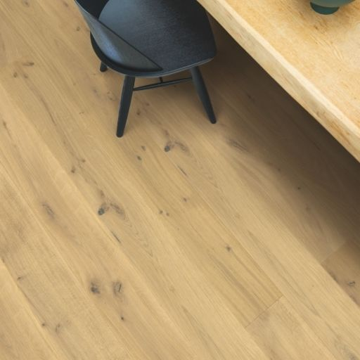 QuickStep Palazzo Warm Natural Oak Engineered Flooring, Brushed, Extra Matt Lacquered, 190x14x1820 mm Image 3
