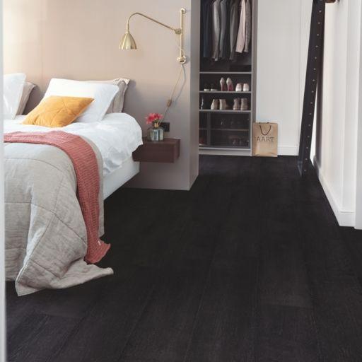QuickStep Signature Painted Black Oak Laminate Flooring, 9 mm Image 1