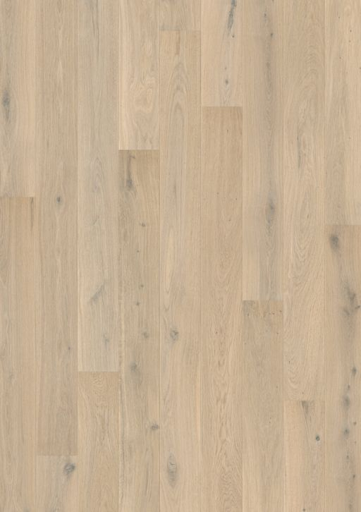 Quickstep Compact Himalayan White Oak Engineered Flooring, Extra Matt Lacquered, 145x2.5x12.5 mm Image 1