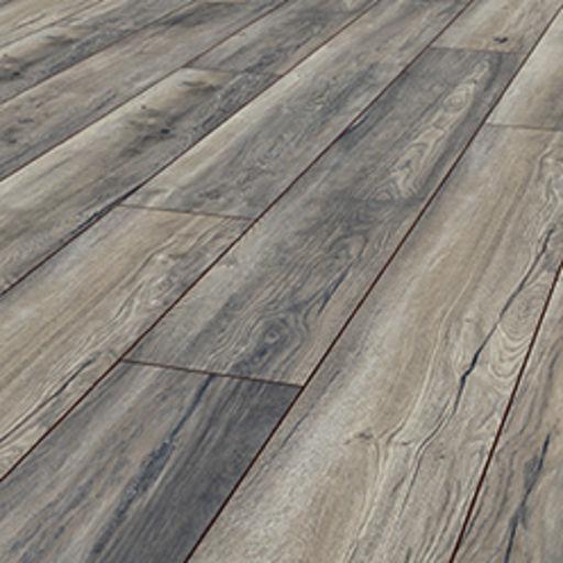 Robusto Harbour Oak Grey Laminate Flooring, 12 mm Image 1