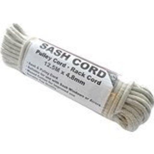 Sash Cord Cotton, 5 mm, Waxed, 12.5 m Image 1