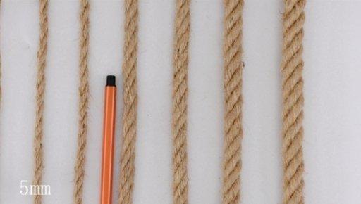 Sisal Rope, 5 mm, Natural, 20 m Image 1