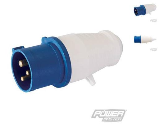 Silverline 230v Plug IP44 16A Image 1