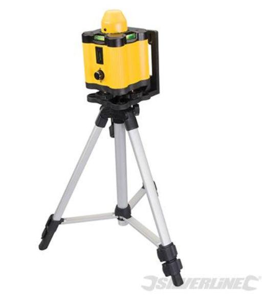 Silverline Rotary Laser Level Kit 30m Range Image 1