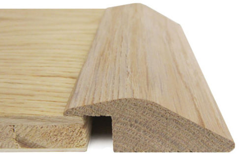 Traditions Solid Oak Reducer Threshold, Satin Lacquered, 7 mm, 2.7 m Image 1