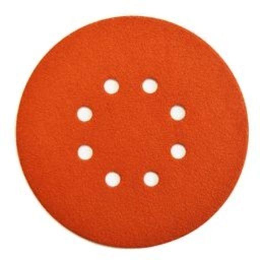 Starcke 120G Sanding Discs, 150 mm, 8 Holes, Velcro Image 1