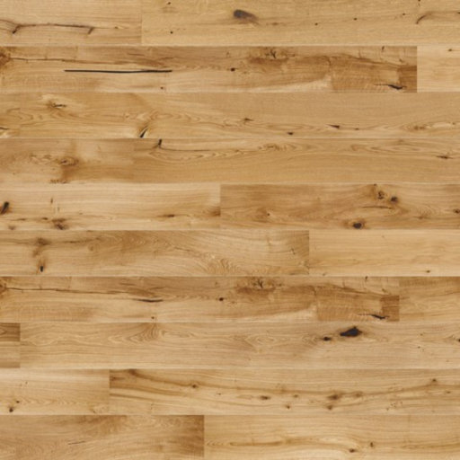 Kersaint Cobb Treviso Medium Oak Engineered Flooring, Rustic, Matt Lacquered, 207x3.2x14 mm Image 1