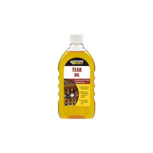 Teak Oil, 500 ml Image 1