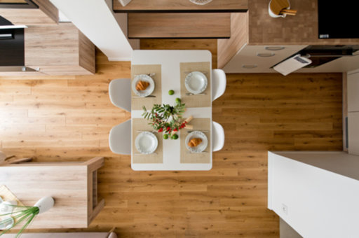 Tradition Engineered Oak Flooring, Colourless, Rustic, Brushed, Oiled, 180x4x14 mm Image 2