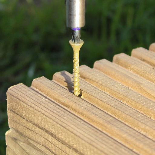 TIMco C2 Advanced Decking Timber Screws - TX - Countersunk - Exterior - Green 4.5 x 65 mm Image 2