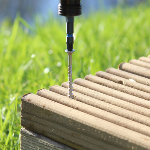 TIMco Classic Decking Screws - PZ - Double Countersunk - Stainless Steel 4.5 x 65 mm Image 3