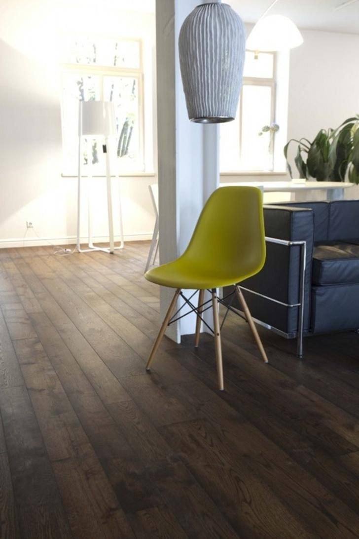 Tradition Ebony Engineered Oak Flooring, Brushed, Oiled, 180x14.5 mm Image 4