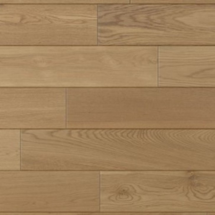 Kersaint Cobb Traditions Oak Natural Engineered Flooring, Rustic, Brushed, UV Oiled, 150x5x18 mm Image 1