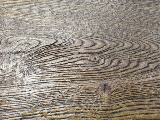 Tradition Antique Brown Engineered Oak Flooring, Distressed, Brushed, Oiled, 190x3x14 mm Image 3