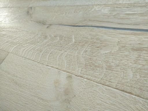 Tradition Antique Engineered Oak Flooring, Distressed, Brushed, Unfinished, 220x15x2200 mm Image 1