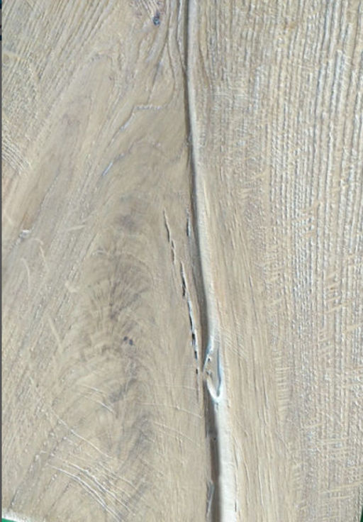 Tradition Antique Engineered Oak Flooring, Distressed. Brushed, White Oiled, 220x15x2200 mm Image 4
