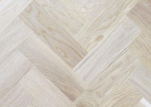 Tradition Classics Solid Oak Parquet Flooring Blocks, Unfinished, Rustic, 16x70x230 mm Image 1