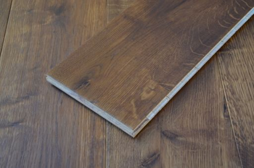 Tradition Double Smoked Oak Engineered Flooring, Natural, Oiled, 190x14x1900 mm Image 4
