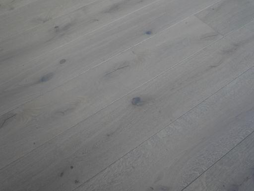 Tradition Dove Grey Engineered Oak Parquet Flooring, Rustic, 190x14x1900 mm Image 1