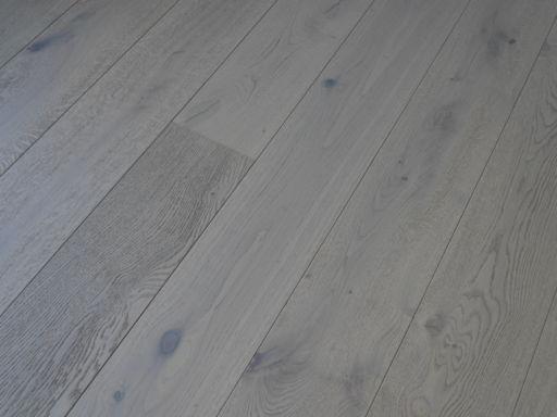 Tradition Dove Grey Engineered Oak Parquet Flooring, Rustic, 190x14x1900 mm Image 3