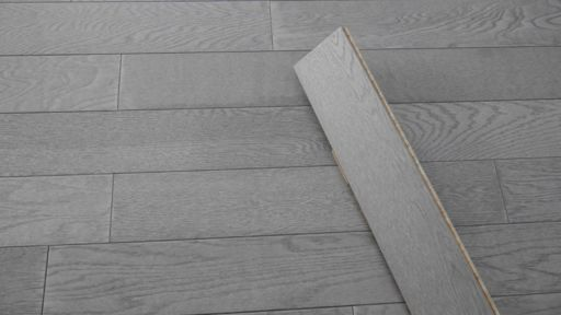 Tradition Engineered Oak Flooring, Natural, Steel Grey, 125x14xRL mm Image 1
