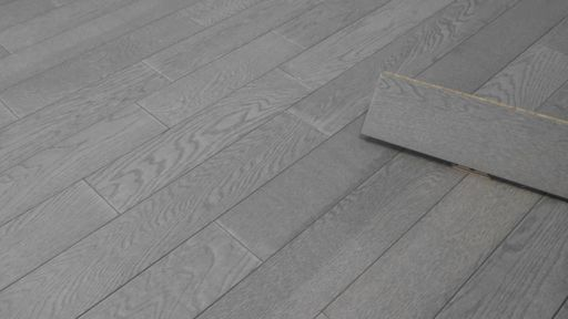 Tradition Engineered Oak Flooring, Natural, Steel Grey, 125x14xRL mm Image 2