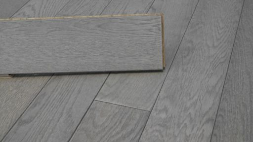 Tradition Engineered Oak Flooring, Natural, Steel Grey, 125x14xRL mm Image 3