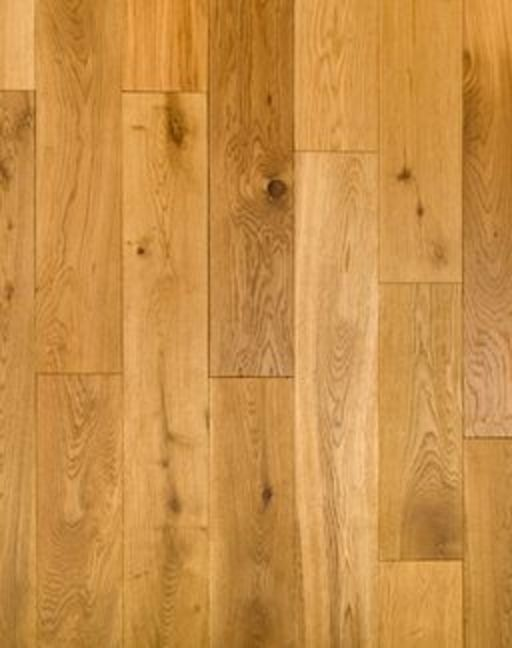 Tradition Engineered Oak Flooring, Rustic, Brushed, Oiled, 190x3x14 mm Image 1
