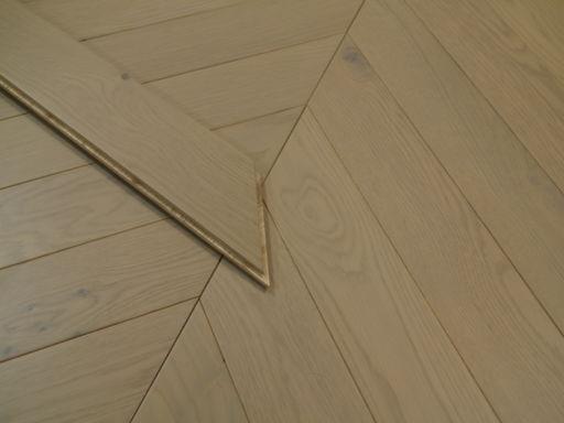 Tradition Engineered Oak Parquet Flooring, Grey, Matt Lacquered 750x15x90 mm Image 1