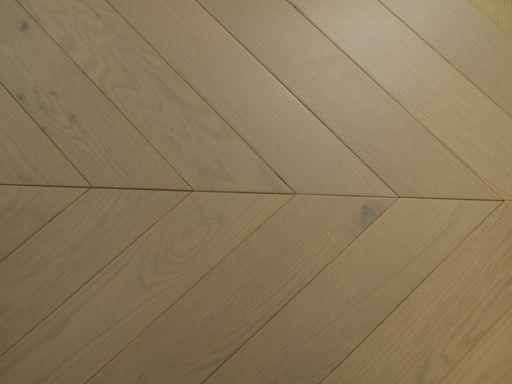 Tradition Engineered Oak Parquet Flooring, Grey, Matt Lacquered 750x15x90 mm Image 2