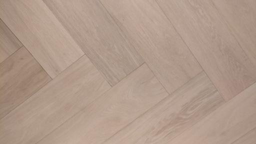 Tradition Engineered Oak Parquet Flooring, Herringbone, Prime, Unfinished, 150x14x600 mm Image 1