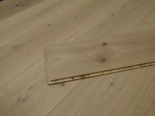 Tradition Engineered Oak Parquet Flooring, Rustic, Brushed & Invisible Lacquered, 260x15x2200 mm Image 2
