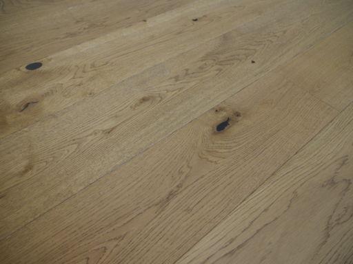 Tradition Engineered Oak Parquet Flooring, Rustic, Golden Brushed & Matt Lacquered, 190x14x1900 mm Image 1