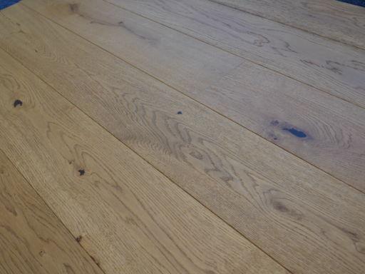 Tradition Engineered Oak Parquet Flooring, Rustic, Golden Brushed & Matt Lacquered, 190x14x1900 mm Image 3