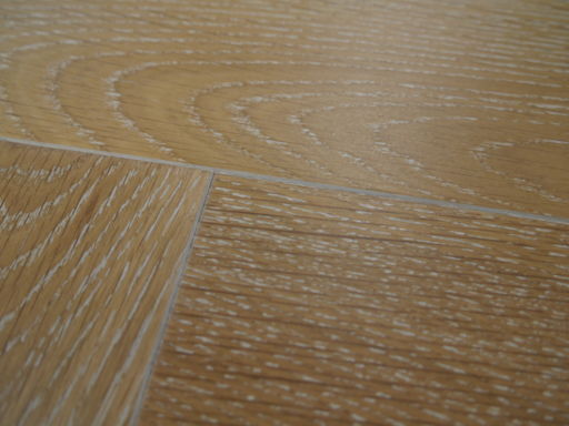 Tradition Engineered Oak Parquet Flooring, Smoked White, Natural, 90x18x400 mm Image 3